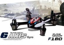 Mini rc drone F180 2.4GHz 4ch 6axis RC micro Quadcopter toy radio control quadcopter RTF UFO remote control model for child gift