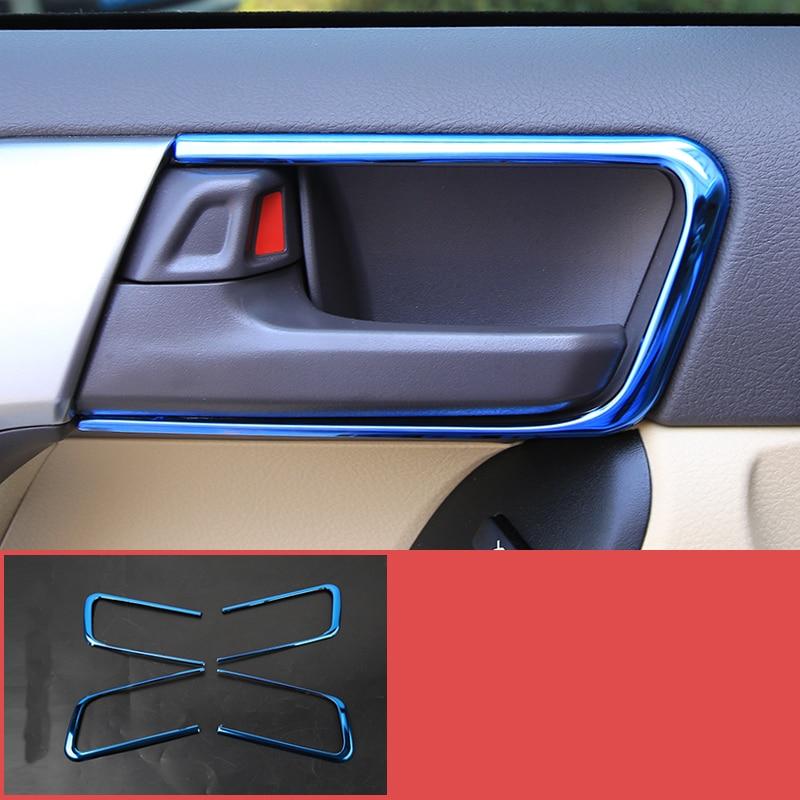 lsrtw2017 car door inside handle frame trims for toyota land cruiser prado 2010 2011 2012 2013 2014 2015 2016 2017