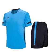 16/17 New Survetement Football Training Suit Soccer Jerseys Set Maillot De Foot Futbol Shirt Short Tracksuit Blank DIY Customize