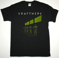 KRAFTWERK EXPO REMIX BLACK T SHIRT ELECTRONIC KRAUTROCK NEU FRONT 242 ULTRAVOX