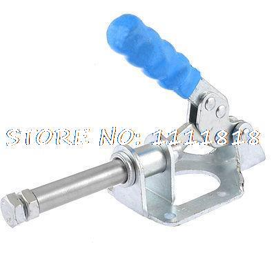 Blue Lever Handle 302F 300 Lbs Push Pull Quick Holding Plunger Toggle Clamp Tool