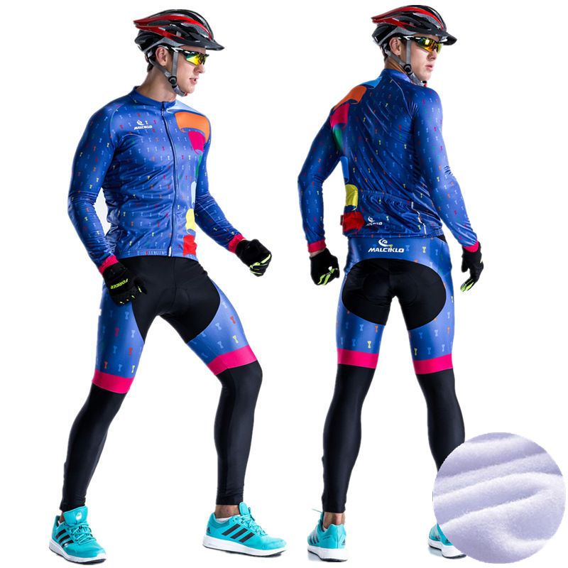 2017 Pro Team Cycling Jersey Winter Long Bike Bicycle Thermal Fleece Ropa Roupa Ciclismo Invierno Hombre Mtb Cycling Clothing 2016 fluor pro team sky cycling long jersey winter thermal fleece long bike clothing mtb ropa ciclismo bicycling maillot culotte
