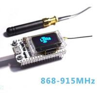 NEW 868MHz 915MHz LoRa ESP32 OLED Wifi SX1276 Module IOT Development Board With Antenna For Arduino