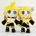 Аниме хацунэ мику плюшевые игрушки Kagamine Rin 30 см хацунэ мику рисунок для девочки лучший подарок на день рождения