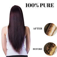 100% PURE Hydrolyzed Keratin DIY Hair Treatment STRAIGHT HAIR Very Effective 115g Free Shipping