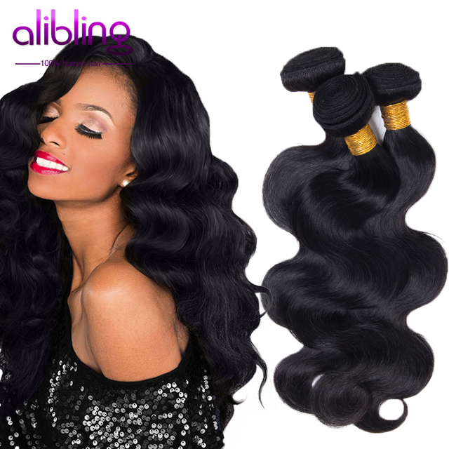 6a Malaysian Hair Weave Bundles 3pcs Lot Meches Bresilienne Meches