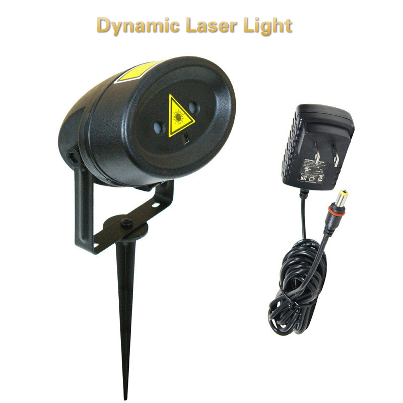 Laser Lights Gypsophila outdoor decorative lights dynamic optical maser Lights holiday garden atmosphere lights diy 10w 6000 6500k 800 900lm white light 9 led module dc 9 11v 3 pack