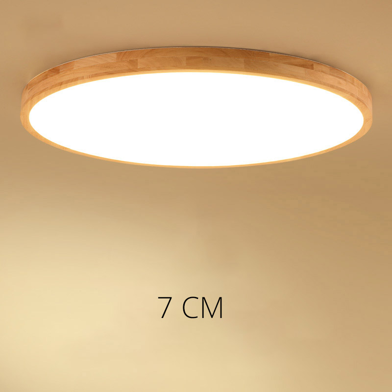 DX Wooden Ceiling Light LED Ceiling Lights Living Room Chandelier Ceiling LED Ceiling Light For Living