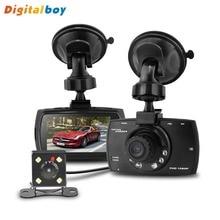 G30B Dual Lens Auto DVR H.264 Fotocamera Frontale Full HD Car Camera Recorder 1280*1080 P Esterna Telecamera Posteriore 720*480 P Dash Cam Per Auto