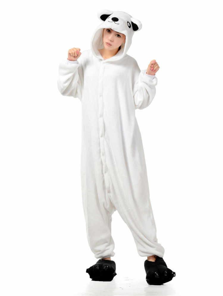 ... Кигуруми белый полярный медведь kigurums Пижама для взрослых Onesie  унисекс пижамы Хэллоуин для рождественской вечеринки пижамы ... 11abd1ffd28e8