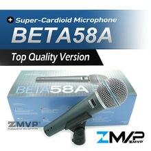 El Envío Gratuito! de Calidad superior Versión Beta 58a BETA58 Karaoke Vocal Dinámico Micrófono Con Cable de Mano Micrófono Mike Beta 58 Un Micrófono