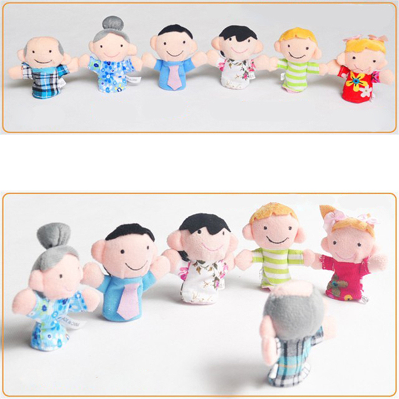Anggota Keluarga Boneka jari Keluarga Bahagia Bayi Mainan Mendongeng Props  Senang Bayi Anak Puppets Gratis Drop Pengiriman Grosir di Bayi Playpens  dari Ibu ... 391dc0f67d
