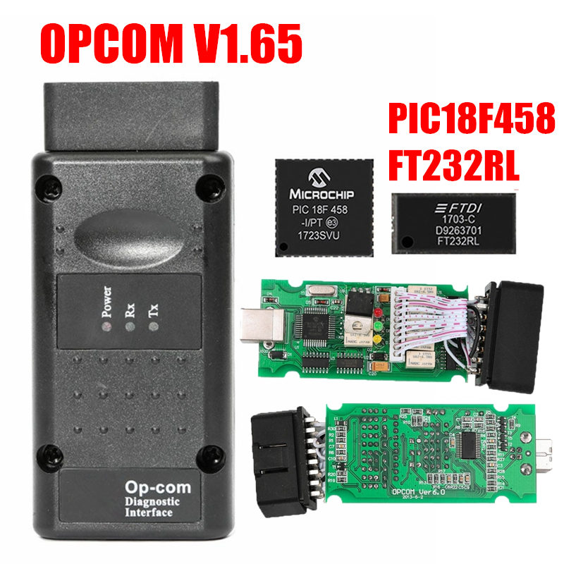 Image 5 - 2019 OPCOM Firmware V1.59 V1.65 V1.70 V1.78 V1.95 V1.99 PIC18F458+FTDI Chip OP COM 1.99 Newest SW 2014 Op com For Opel-in Car Diagnostic Cables & Connectors from Automobiles & Motorcycles