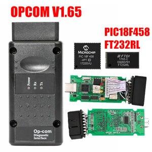Image 5 - Opcom Firmware V1.59 V1.65 V1.70 V1.78 V1.95 V1.99 PIC18F458 + Ftdi Chip Op Com 1.99 Nieuwste Sw 2014 Op  com Voor Opel
