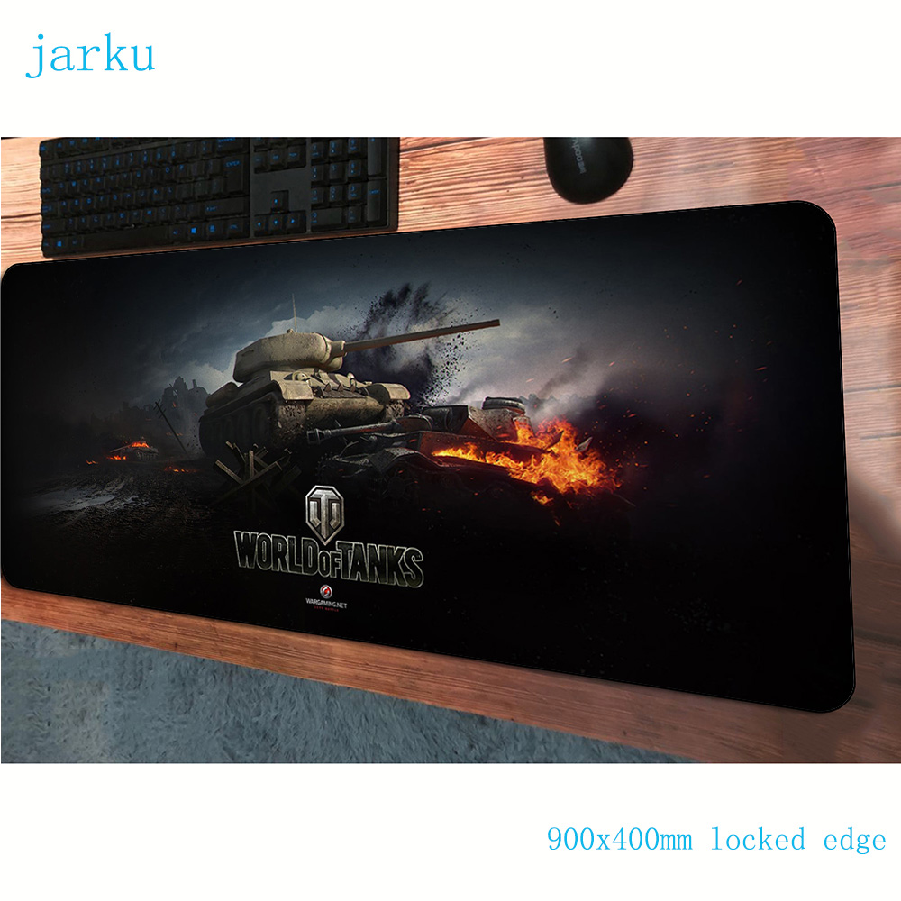 world of tanks <font><b>padmouse</b></font> <font><b>900x400x3mm</b></font> gaming mousepad game big mouse pad gamer computer desk 3d mat notbook mousemat pc image