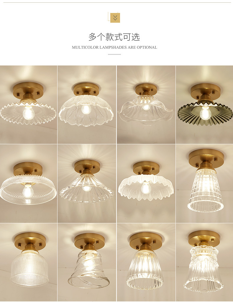 HTB1lp7TaULrK1Rjy1zbq6AenFXaq Glass Ceiling Lights | Smoked Glass Pendant Light | Nordic Glass Ceiling lamp Retro Loft Vintage Ceiling Light Russia Dining Room Modern corridor copper E27 Ceiling Glass Lampshade