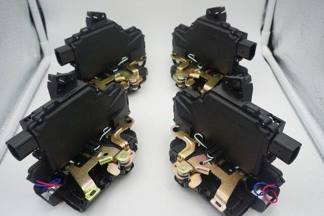 Set Of 4 PCS Front Rear Left Right Door Lock Mechanism For VW GOLF BORA LUPO PASSAT B5 MK4  For SEAT Skoda