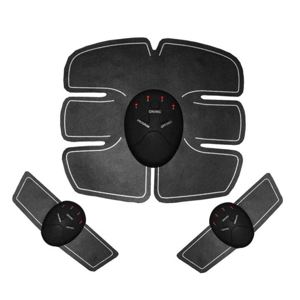 Smart Électrique Abdominale Muscle Bras Formateur Parfait Corps Dispositif Sans Fil Stimulateur Musculaire Massage de Remise En Forme Santé Fat Burning