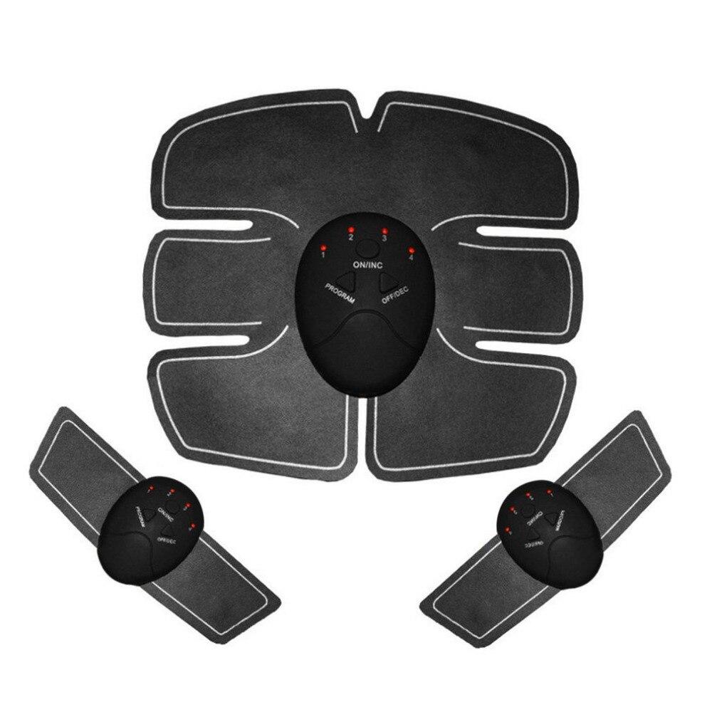 Smart Elektrische Bauchmuskeln Arm Trainer Perfekte Körper Gerät Drahtlose Muscle Stimulator Fitness Massage Gesundheit Fett Brennen
