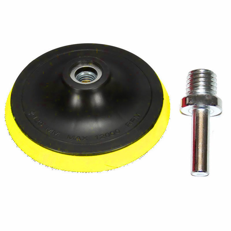 Buffing Plate Polishing Tool Holder Disc Kit Rubber Cordless Screwdriver
