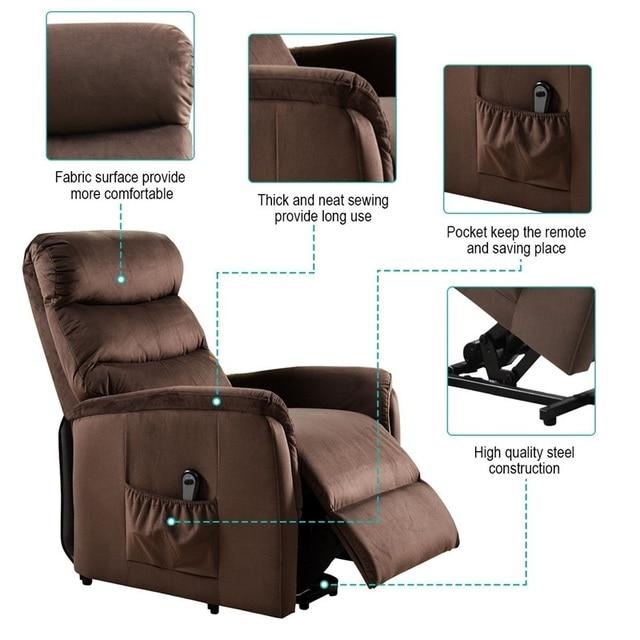 Recliner Chair w/  Footrest 4