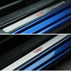 Car Door Sill Plate For Toyota 86 TRD BRZ STI Stainless Steel Alloy Door Sill Plates