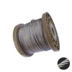 5 метров 3 мм 4 мм диаметр стальной голой/ПВХ покрытием гибкий трос подъемный кабель прозрачный 304 нержавеющая сталь трос 7*7