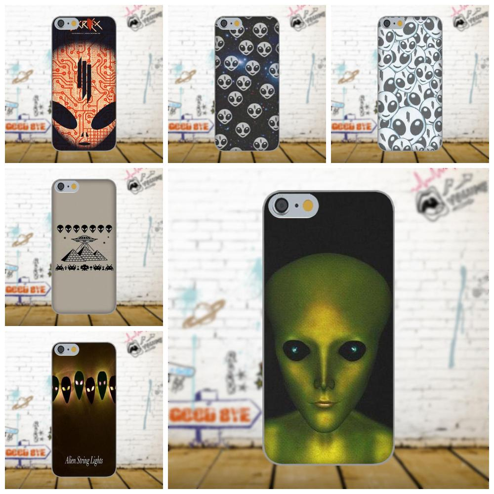 Oedmeb Soft TPU Skin Painting For Xiaomi Redmi 5 4A 3 3S Pro Mi4 Mi4i Mi5 Mi5S Mi Max Mix 2 Note 3 4 Plus Skrillex Alien Head