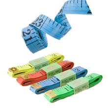 3Pcs lot Body Measuring Ruler Sewing Tailor Tape Measure Soft Flat Tool 60Inch 1 5M Diameter