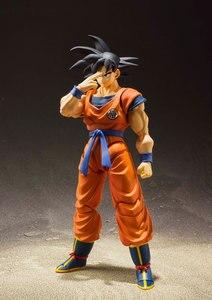 """Image 5 - """"Dragon Ball Z"""" 100% Original BANDAI Tamashii Nations S.H. Figuarts/figura de acción SHF Son Goku kaio ken"""