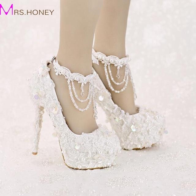 Zapatos de encaje con lentejuelas 3a2GkI