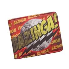 Sheldon Cooper's Classic Bazinga Wallet – 2 Designs