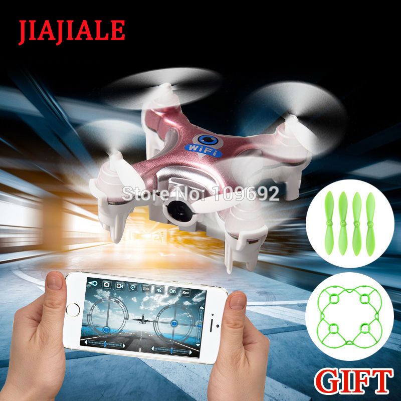 Cheerson CX-10W CX10W MINI WIFI FPV Drones RC Quadcopter With HD 0.3MP Camera UAV 2.4G 4CH 6-Axis Helicopters Toys mini rc helicopter cheerson cx 10w upslon cheerson cx 10wd rc quadrocopter with camera mini drones remote control fpv wifi drone