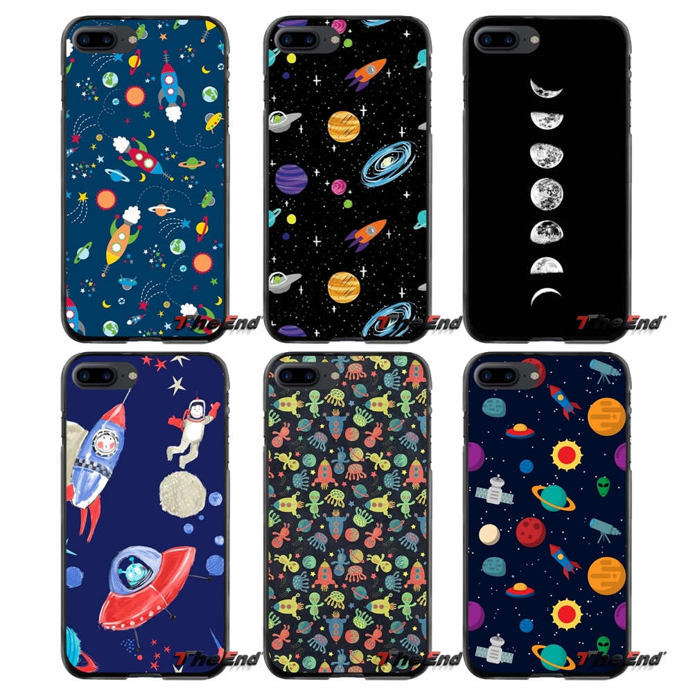 Accessories Phone Shell Covers For Apple iPhone 4 4S 5 5S 5C SE 6 6S 7 8 Plus X iPod Touch 4 5 6 Planet Universe Space