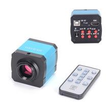 14MP HDMI 1080 P HD usb דיגיטלי התעשייה וידאו פיקוח מיקרוסקופ מצלמה סט TF כרטיס מקליט וידאו עבור טלפון נייד PCBrepair