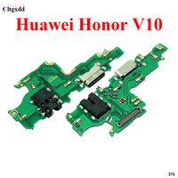 cltgxdd 5pcs 10pcs For Huawei Honor V10 USB Charger Charging Connector Port Flex With Headphone Earphone Audio Jack Port