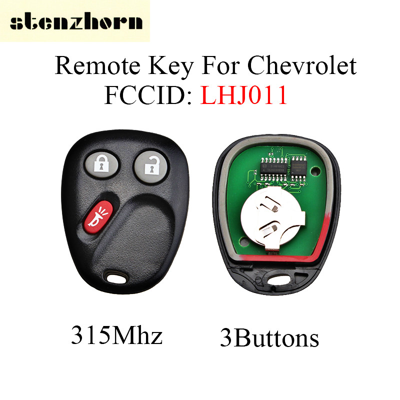 Stenzhorn Keyless Remote Key Fob 315Mhz For Hummer H2 Chevrolet Avalanche Cadillac Escalade 2003-2006 LHJ011 Car Entry Key 3BT