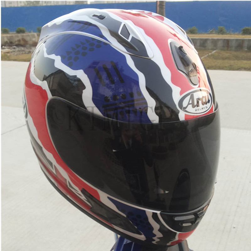 Casque Arai Rx7-casque de course top RR5 pedro moto rcycle casque intégral moto rcycle, capacete, casque de moto - 6