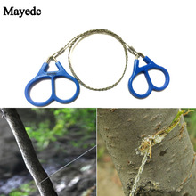 Hiking Camping Travel hunting Kits Stainless steel wire saws Ring Chain Practical Equipment Outdoor Tools Hand Saw,Survival Gear