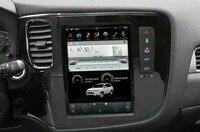 10.4'' vertical Screen Tesla Style Android 7.1 Car DVD GPS Navigation Radio Audio Player for MITSUBISHI outlander 2014 2016
