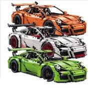 Decool 3368 2726PCs A B C Technic Model Orange White Green Building Mini Compatible Legoings 42056
