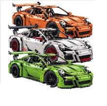 Decool 3368 2726 PCs A/B/C Modelo Technic Laranja Branco Verde Edifício Mini Compatível 42056 20001 Brinquedos para As Crianças Presentes