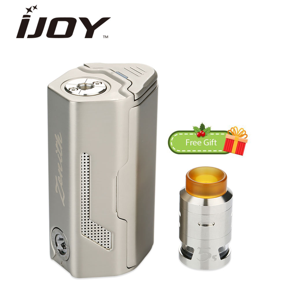 100% Original 300W IJOY MAXO Zenith Starter Kit with 2.6ml RDTA 5S Tank Atomizer & ULTEM Drip Tip VS 300W MAXO Zenith VV MOD electronic cigarette kit original ijoy captain pd1865 tc vape kit rdta 5s tank 2 6ml atomizer captain pd1865 box mod 225w