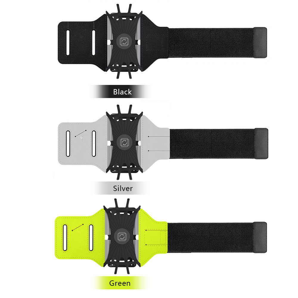 Running Phone Wristband Armband Phone Case Cover Bag Phone Holder Pouch Belt Wrist Strap for iPhone with Key Holder Cable Locker