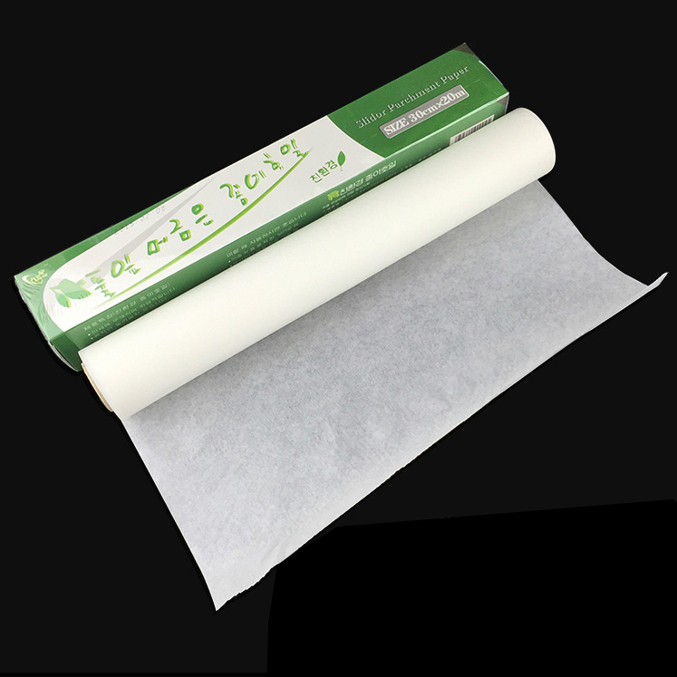 20 Meters Baking Paper Thickened Silicon Non stick Paper Oil Blotting Paper For Cooking Kitchen Baking