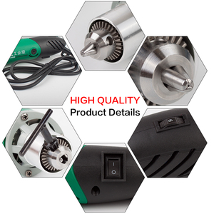 "Image 3 - 30000 סל""ד 480W החשמלי מיני חרט עם 6 מהירות משתנה עבור Dremel מתכת קידוח מכונה ליטוש 110V/220V"