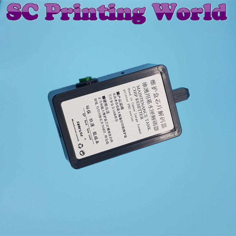Color: 5PCS Waste Tank Chip Printer Parts BOMALTD USB Waste Ink Maintenance Tank Chip Resetter for Canon IPF 500//510//5100//600//605//610//6300//6300s//700//710//810//815//825