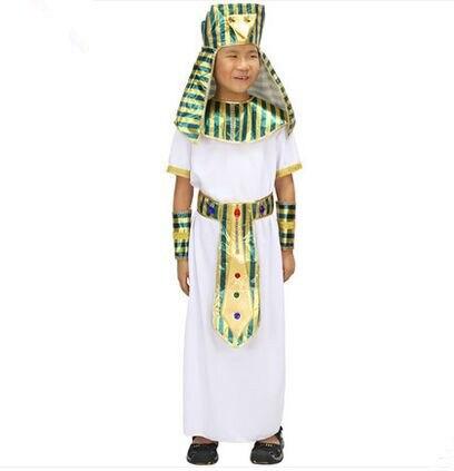 Antiguo Egipto ropa Egipto Príncipe traje egipcio conjunto árabe disfraces  para niños 3999bafdc3a4