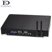 Kingdel Best Quality Mini PC,Core i5 4260U Dual Core,Micro HTPC with Mute Fan,LAN HDMI VGA OPT office&Home Mini Computer Wifi