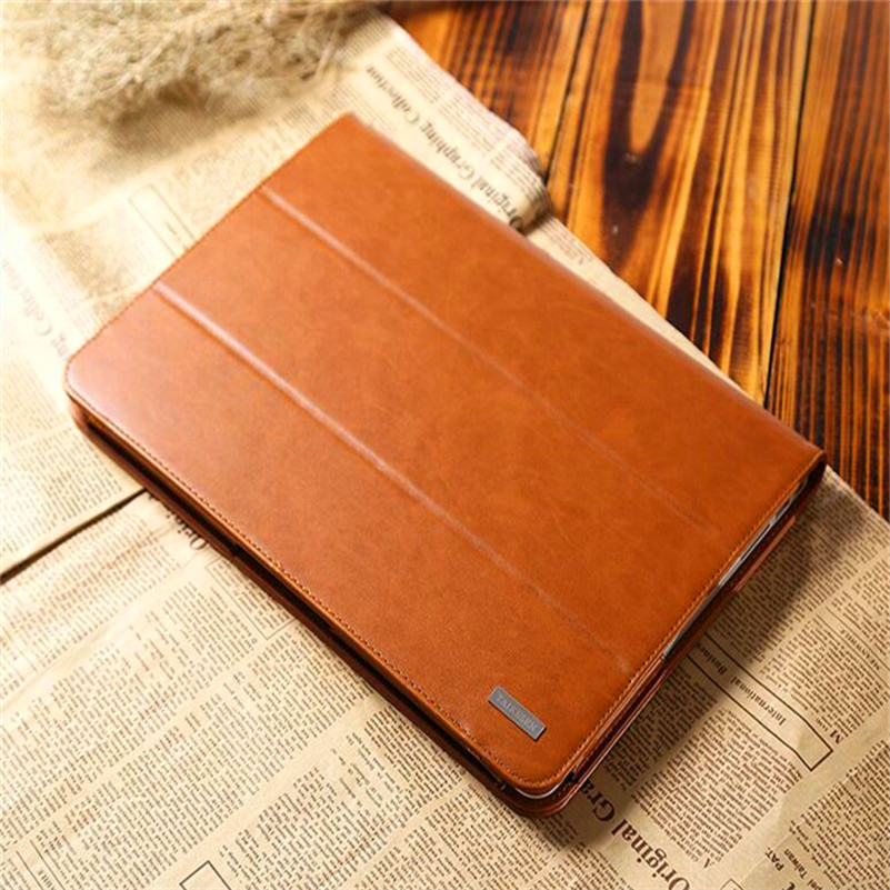 Brown Laptop Sleeve Bag Case for Macbook 12 Inch for Air Retina Pro 11 13 15 Inch Business Style Folding Notebook PU Cover kalidi laptop sleeve bag waterproof notebook case for macbook air 11 13 pro 13 15 retina ipan mini 1 2 3 surface pro 12